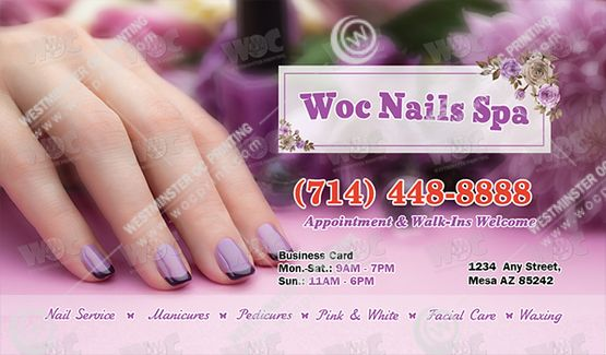 Business Cards - WOC print