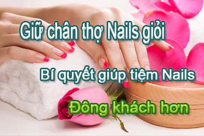 Kết quả hình ảnh cho quản lý thợ nail giỏi